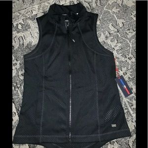Tommy Hilfiger Black With Pink Sleeveless Vest